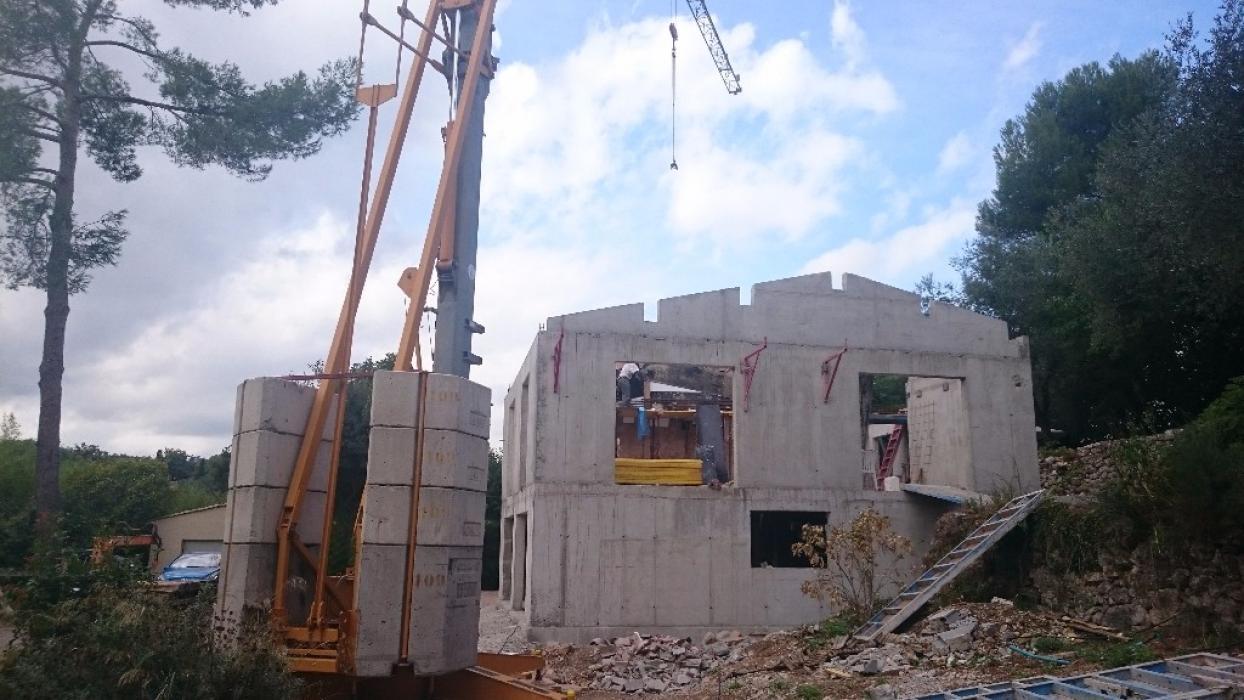 Construction D 39 Une Maison Rt 2012 Grasse P Gomas