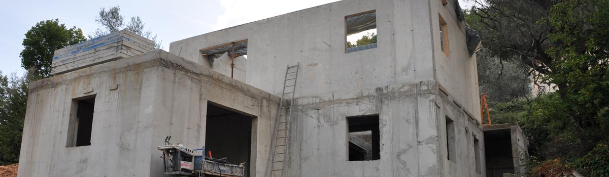 Assez Constructeur de maison RT2012 chateauneuf, roquefort, le rouret  XW05
